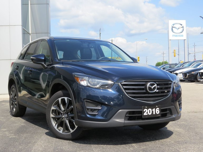 2016 Mazda CX-5 GT|LEATHER|NAVIGATION|MOONROOF|ONE OWNER