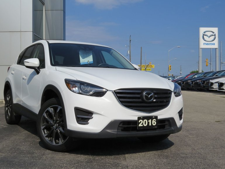 2016 Mazda CX-5 GT|TECH PKG|RADAR CRUISE|LEATHER|MOONROOF|LDWS