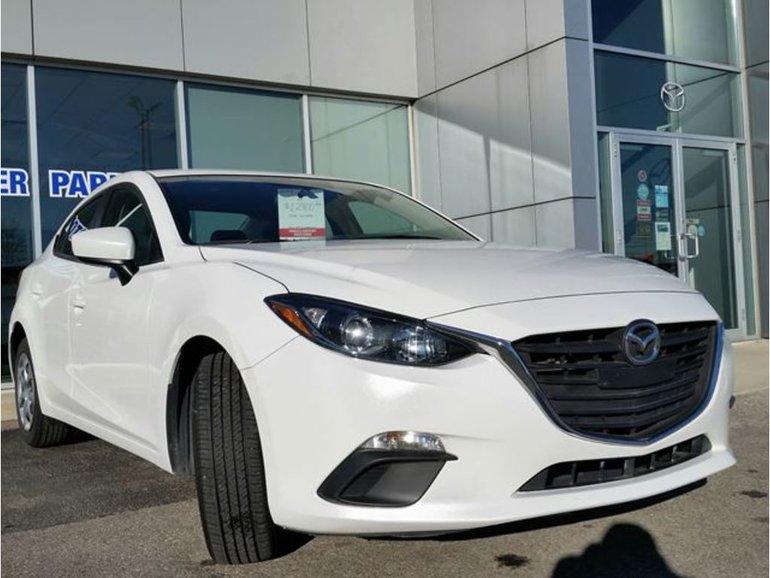 2015  Mazda3 GX|MANUAL|BLUETOOTH|A/C