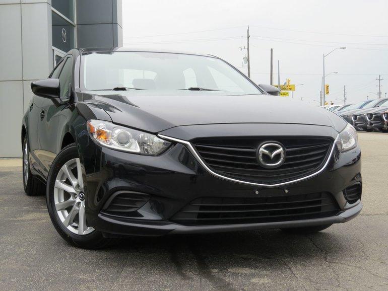 2016  Mazda6 GS|NAVIGATION|LEATHER|MOONROOF|NAV|ONE OWNER