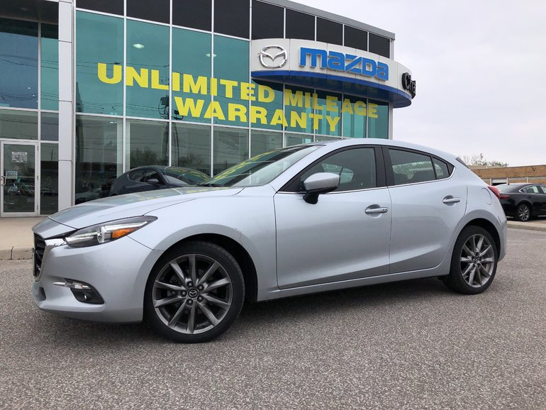 Chatham Mazda | Pre-owned 2018 Mazda3 Sport GT at for Sale