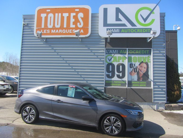 Honda Civic Coupe EX-T 2016