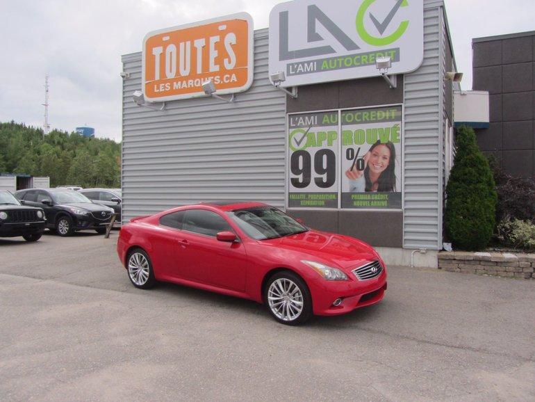 Infiniti G37 Coupe G37 x sport 2011