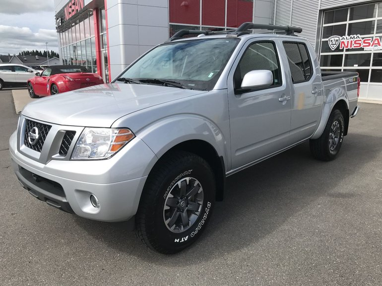 Nissan Frontier PRO-4X  CUIR +TOIT + GPS 2017