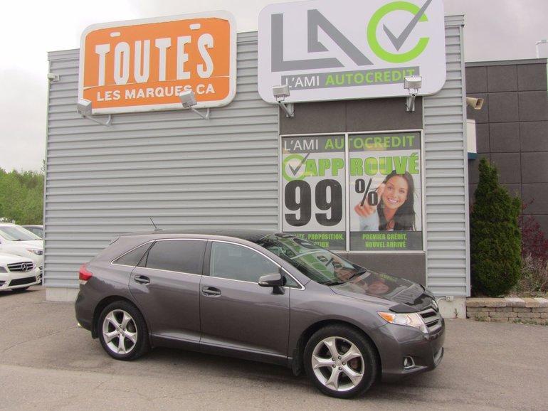 Toyota Venza Xle awd 2014