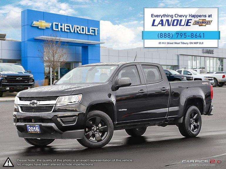 2016 Chevrolet Colorado Crew CAB LWB WT 4WD WT