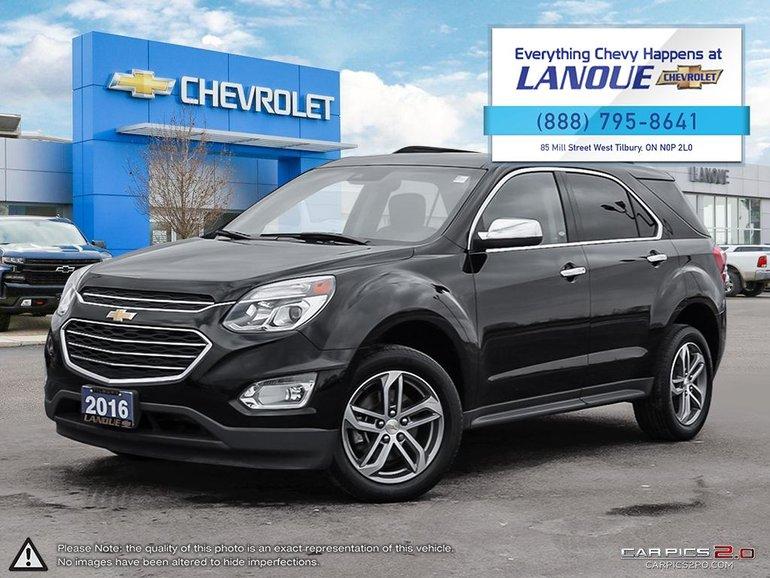 2016 Chevrolet EQUINOX LTZ AWD LTZ