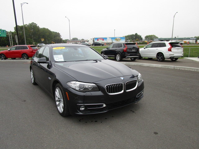 Bmw Trois Rivieres >> Used 2016 Bmw Serie 5 528i Xdrive 2 0l Cuir Toit Ouvrant