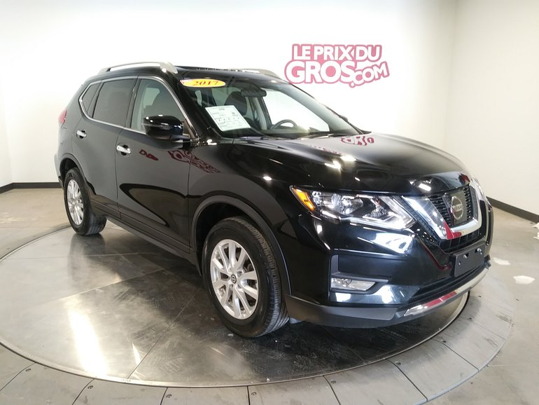 Used 2017 Nissan Rogue Sv 2 5l Awd Toit Ouvrant Panoramique