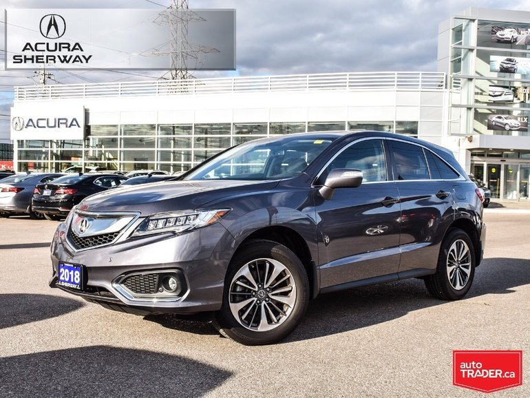 Used Acura RDX Elite At For Sale Acura Sherway - 2018 acura zdx for sale