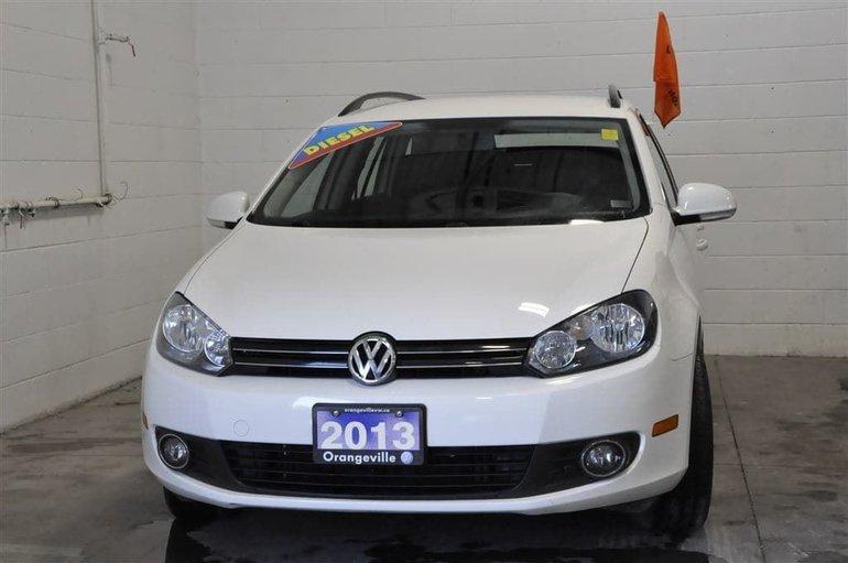 2013 Volkswagen Golf wagon 2.0 TDI Comfortline 6sp