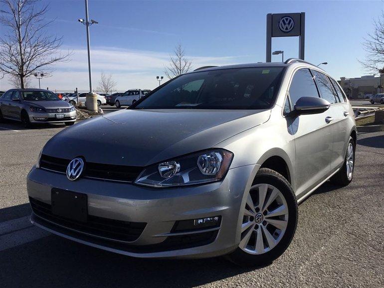 2015 Volkswagen Golf Sportwagon 2.0 TDI Comfortline DSG at w/Tip
