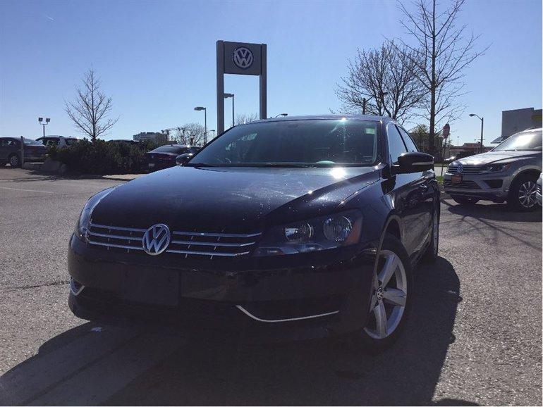 2015 Volkswagen Passat Comfortline 1.8T 5sp