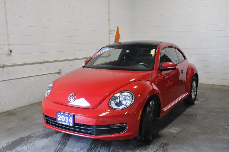 2014 Volkswagen The Beetle Comfortline 2.0 TDI 6sp DSG at w/ Tip