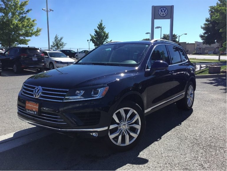 2015 Volkswagen Touareg Execline 3.6L 8sp at Tip 4M