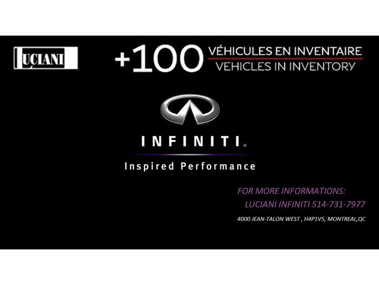 Infiniti QX70 2015 Infiniti QX70 - AWD Sport!! TOIT, BOSE !! 2015