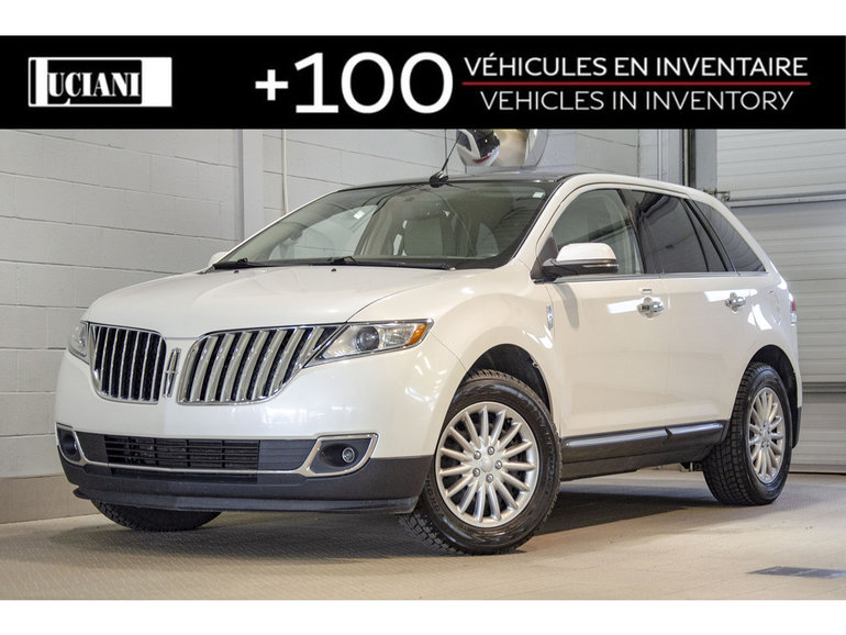 2013 Lincoln MKX 2013 Lincoln MKX - AWD !! GPS, TOIT, CUIR !!