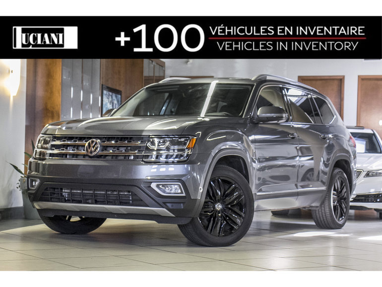 2018 Volkswagen Atlas 2018 Volkswagen Atlas Execline * AppleCarplay *