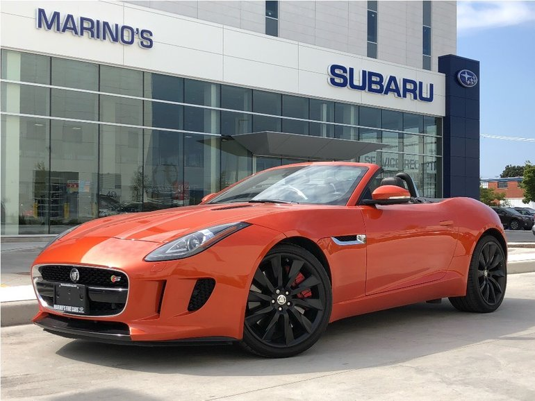 2014 Jaguar F-Type Convertible S