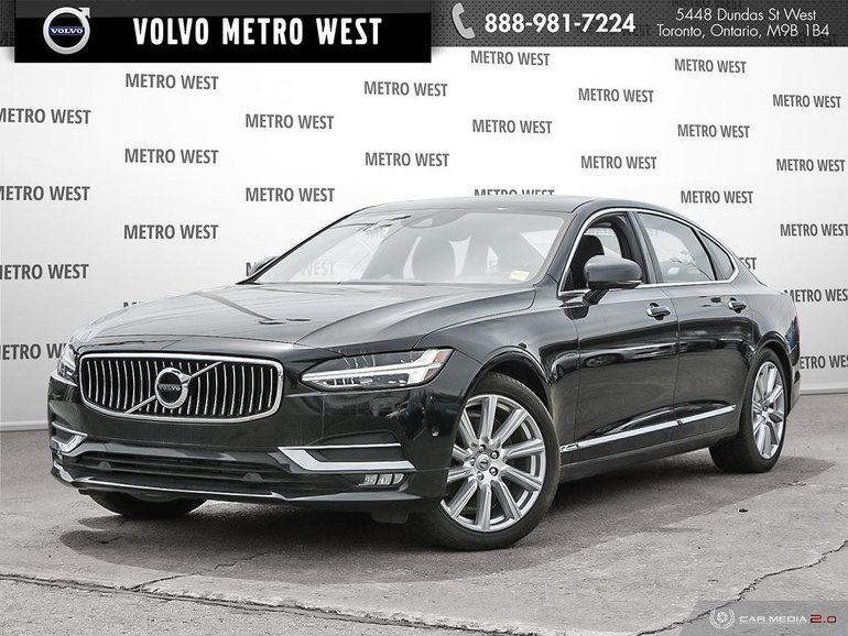 Volvo S90 Lease >> Volvo Metro West | Used 2018 Volvo S90 T6 AWD Inscription in Toronto