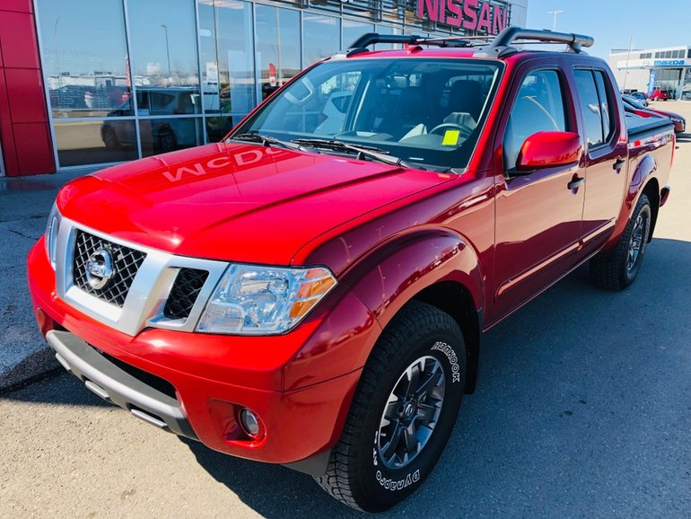 2018 Nissan Frontier Pro 4X