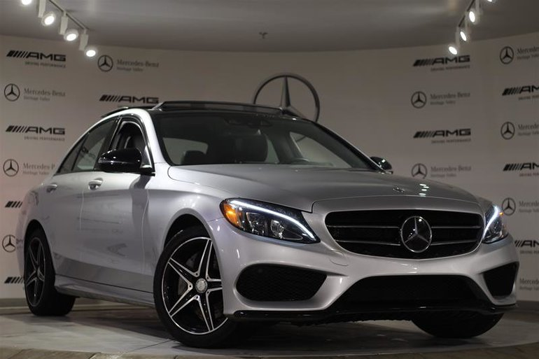 pre-owned 2017 mercedes-benz c300 4matic sedan for sale - $42023.75