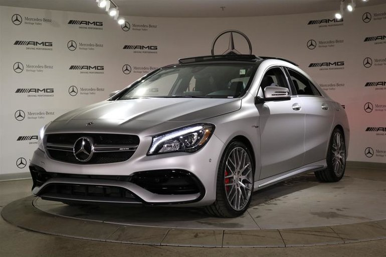 2018 Mercedes Benz CLA45 AMG 4MATIC Coupe