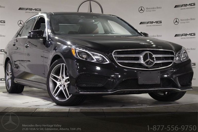 2015 Mercedes-Benz E400 4MATIC Sedan