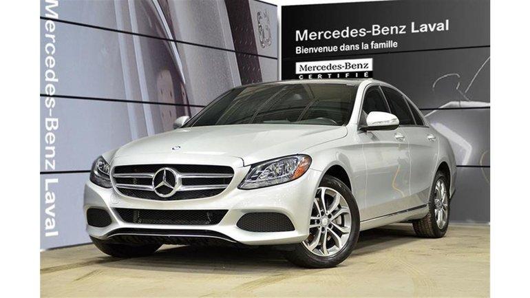 2015 Mercedes-Benz C300 4matic Sedan Navi, Toit Pano, Camera DE Recul, Pei