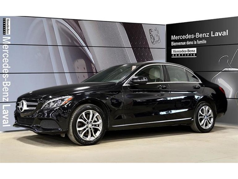 2016 Mercedes-Benz C300 4matic Sedan Camera Recul, Toit Pano, Navigation,