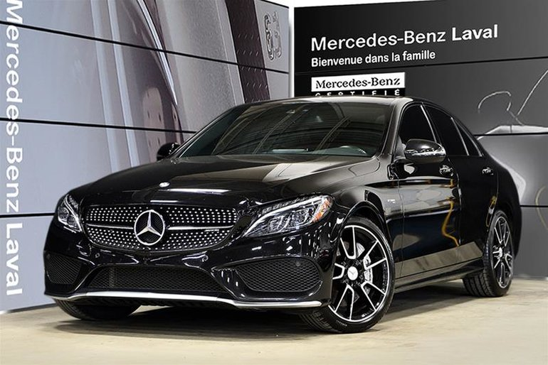 Pre-owned 2017 Mercedes-Benz C43 AMG 4MATIC Sedan for sale
