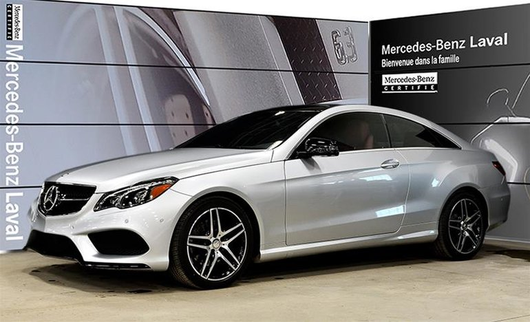 2017 Mercedes-Benz E400 4MATIC Coupe