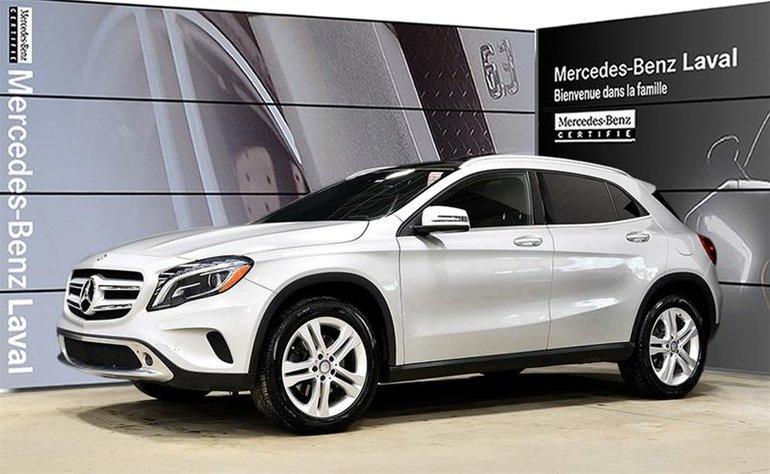 2017 Mercedes-Benz GLA250 4MATIC SUV