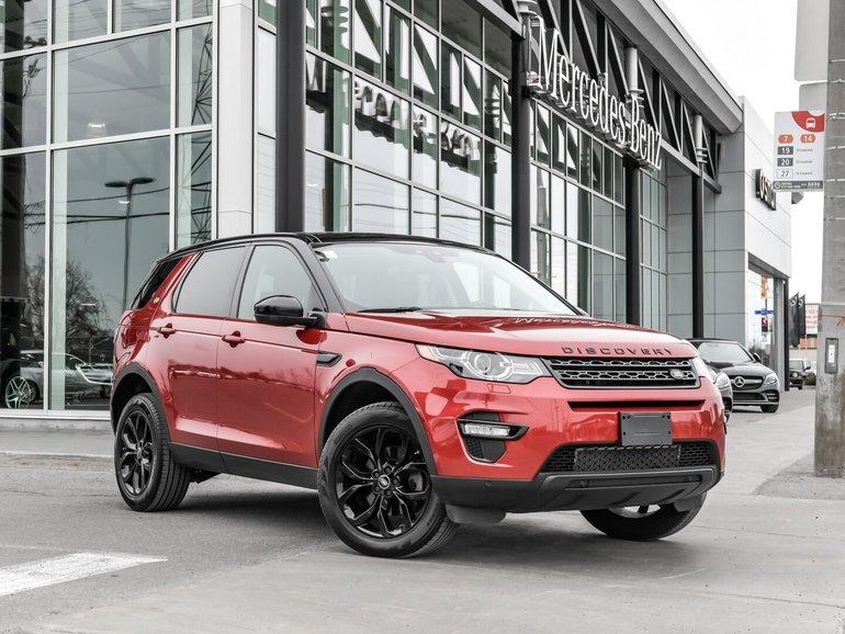 2016 Land Rover DISCOVERY SPORT 7 PASSENGER, BLACK DESIGN PACK, ALLOYS