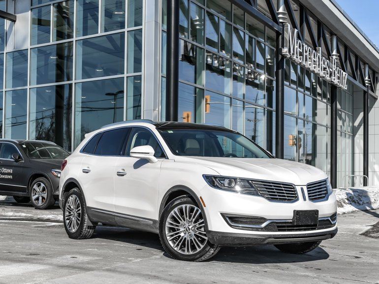 2016 Lincoln MKX Rear view camera, Navigation, Heated seats