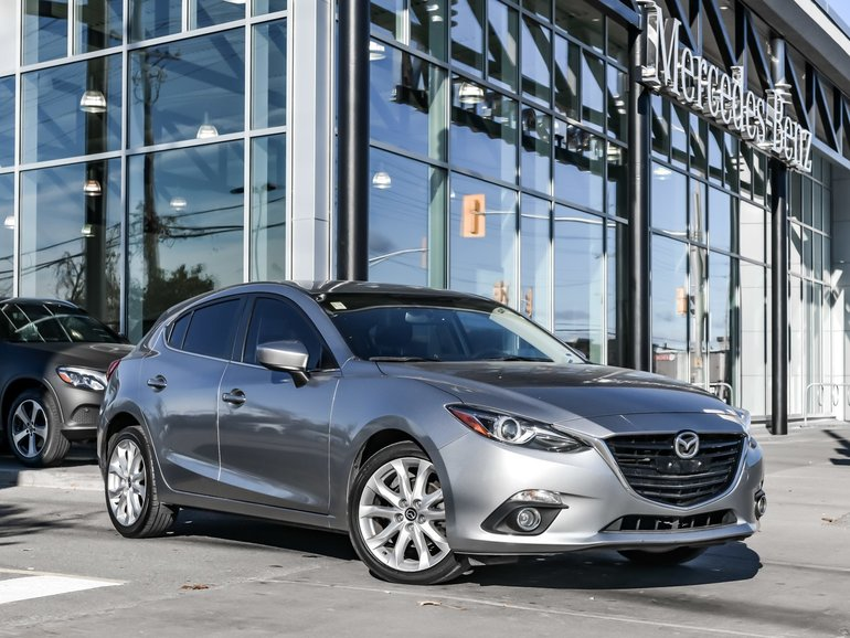 2015 Mazda Mazda3 Navi, Heads up display, Heated seats