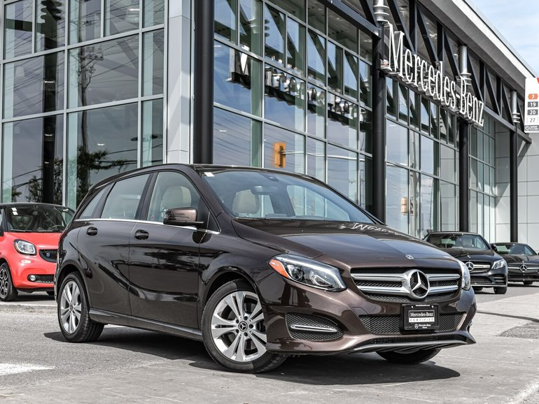 2018 Mercedes-Benz B250 EXECUTIVE DEMO, AVANTGARDE EDITION, LOADED