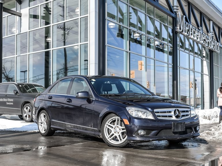 2010 Mercedes-Benz C300 Sunroof, all-wheel drive, safety checked