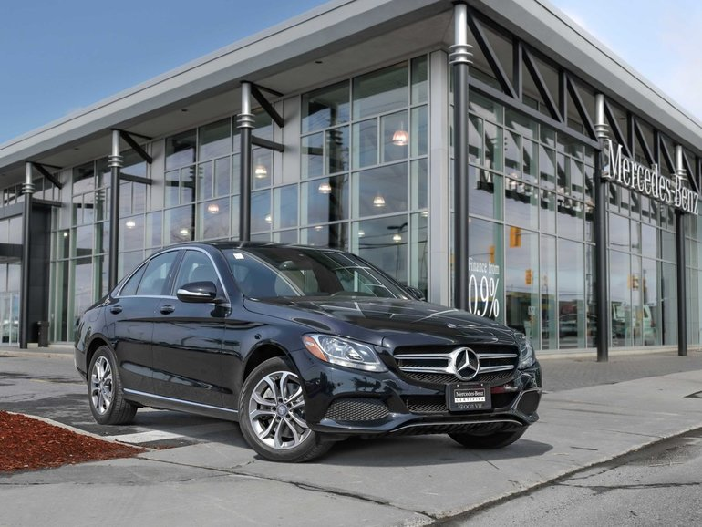Pre-owned 2015 C300 4Matic Panoroof Back Up Cam Parktronic