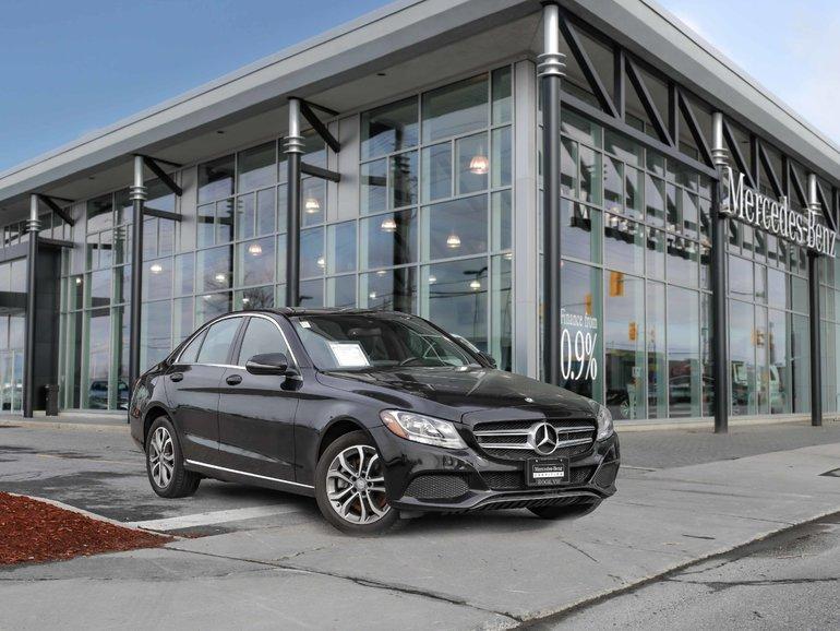 2016 Mercedes-Benz C300 All wheel drive, Rear view camera, Navigation