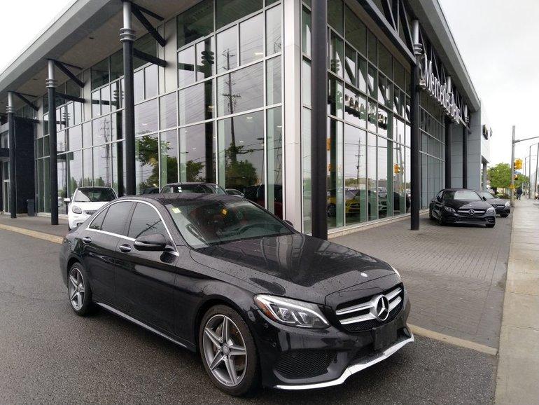2016 Mercedes-Benz C300 AMG EXTERIOR PACKAGE, NAVIGATION, KEYLESS GO