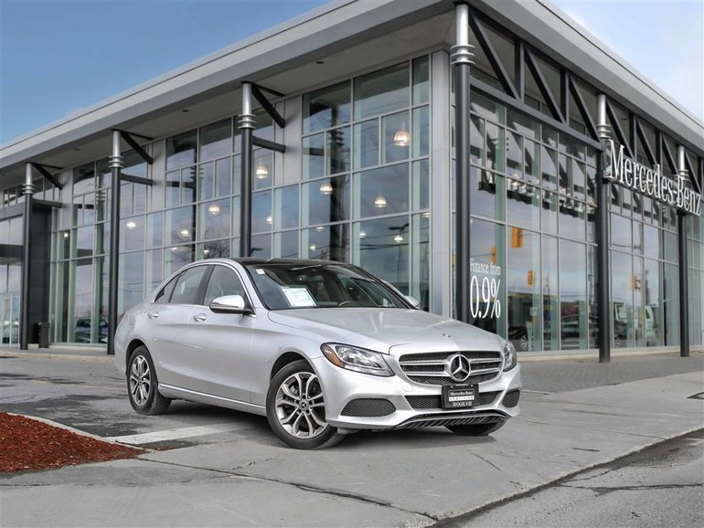 2017 Mercedes-Benz C300 Factory Warranty plus Star Certified Warranty, Navi, All wheel drive, Panoramic sunroof