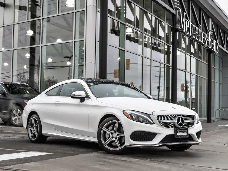 2017 Mercedes-Benz C300 Sport Package, Premium package, Navi
