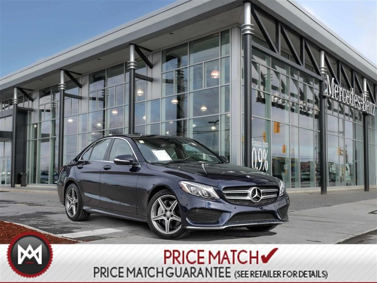 2015 Mercedes-Benz C400 4Matic Panoroof Navi Parktronic