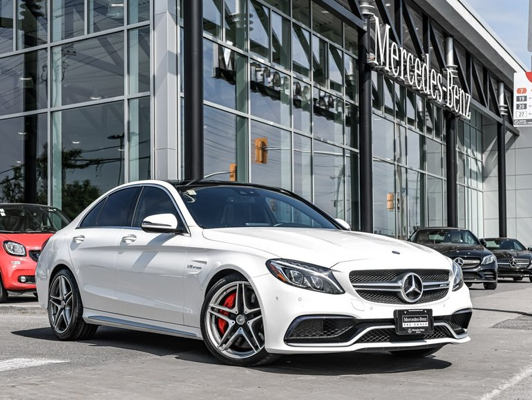 2017 Mercedes-Benz C63 S AMG Premium package, Navigation, AMG performance seats