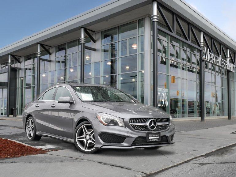 2016 Mercedes-Benz CLA250 4Matic Back up cam Blind spot Navi