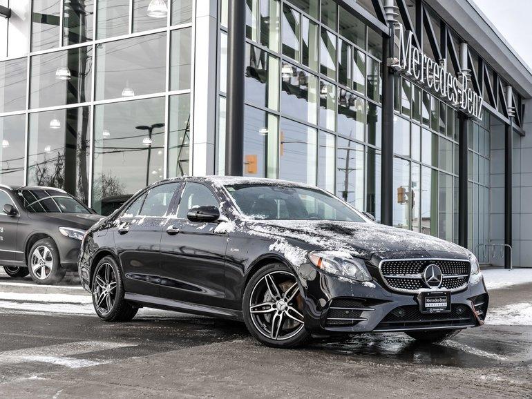 2018 Mercedes-Benz E43 AMG 360 camera, Surround sound, Bluetooth connectivity