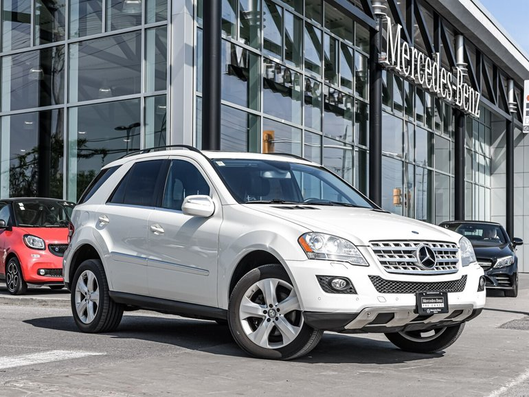 2010 Mercedes-Benz ML350 LEATHER, NAVIGATION, PWR SUNROOF