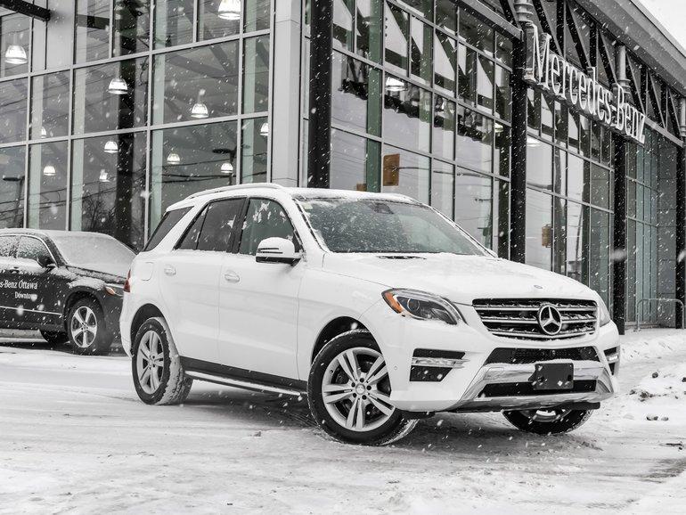 2015 Mercedes-Benz ML350 Premium pkg, 360 camera, Navigation