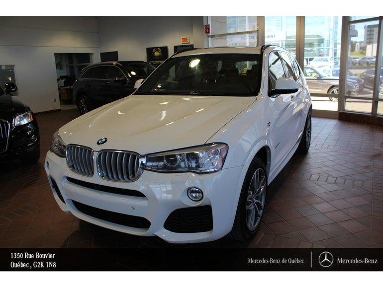 2016 BMW X3 X3 28i, toit pano, navi, caméra, Sirius